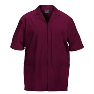 Cherokee - Wine - Sa4300 Men's Zip Front Scrub Jacket - 11 Colors Available