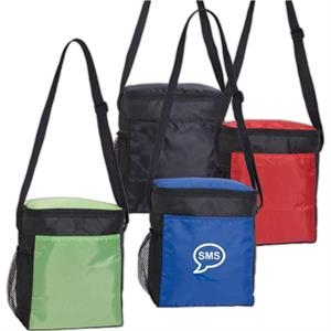 Wave - Vertical Cooler With An Adjustable Shoulder Strap