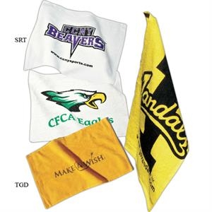 Game Day - Spirit Towels, Economical And Only Available In White Fabric