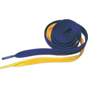 "Game Day - 36"" Length Plain Laces With Left Lace One Color, Right Lace The Other Color"