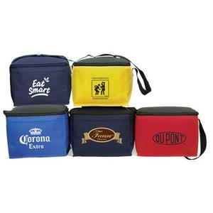 "Six Pack Cooler, 8 1/2"" X 6 3/4"" X 5 3/4"""
