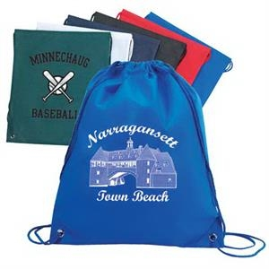 Drawstring Shoulder Pack Made Of 100gm Non-woven Polypropylene