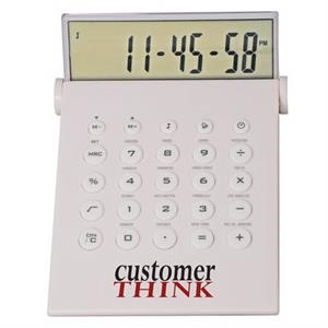 Desktop Calculator/world Time Alarm Clock In One