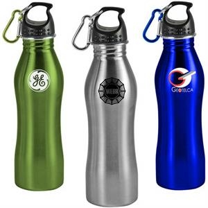 Contour - Stainless Steel Sports Bottle, 25 Oz. Clearance