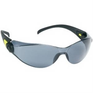 Provizgard - Gray Anti-fog Lens - Sporty Single-piece Lens, Black Frame Safety Glasses