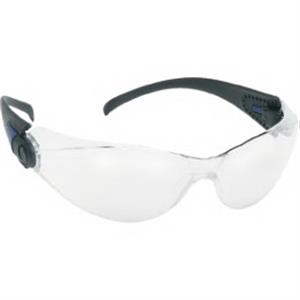 Provizgard - Indoor/outdoor Lens With Black Frame - Sporty Single-piece Lens, Black Frame Safety Glasses
