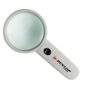 3x - Illuminated Magnifier With Clear Lens