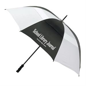 "The Bogey - Vented Sport Umbrella With 60"" Arc And Steel Shaft"