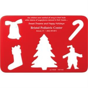 Winter Holiday - Holiday Poly Stencil Are A Great Way To Trace And Create Holiday Art