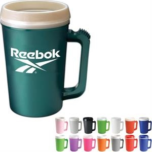Mega - Travel Mug With 22 Oz. Capacity And Matte Finish