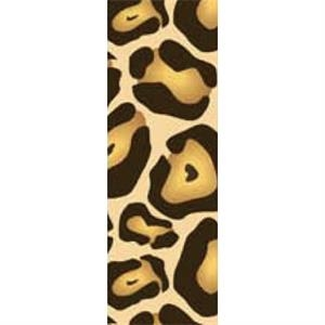 Tapetastic (r) - Traditional Leopard - Repositionable Designer Tape. Acid Free And Photo Friendly