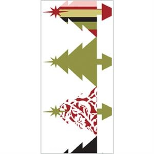 Tapetastic (r) - Christmas Trees - Repositionable Designer Tape. Acid Free And Photo Friendly