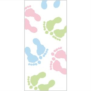 Tapetastic (r) - Baby Feet - Repositionable Designer Tape. Acid Free And Photo Friendly