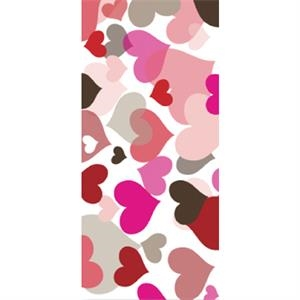 Tapetastic (r) - Hearts - Repositionable Designer Tape. Acid Free And Photo Friendly