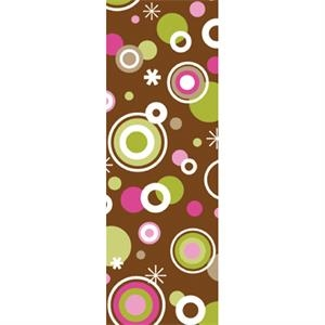 Tapetastic (r) - Circles & Dots - Repositionable Designer Tape. Acid Free And Photo Friendly