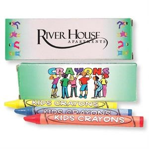 Three Pack Of Crayons. - Blank