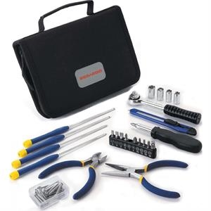 Total Package - Tool Set Comes Complete With A Black Fabric Carrying Case