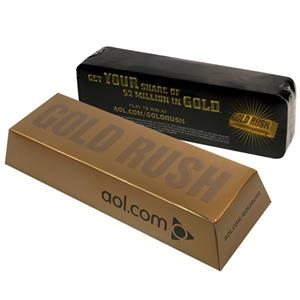 Promopack (tm) - Gold Rush Box Great For Packaging Any Promotional Product