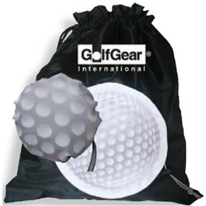 Morph - The Golf Ball Morphs Into A Large Drawstring Bag