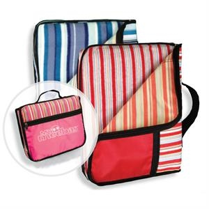 Al Fresco - Fleece Blanket With Nylon Shell Folds Up Into Carry Case
