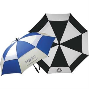 Hurricane - Umbrella With Vented Double Cover. Fiberglass Shaft And Ribs With Golf Grip Handle