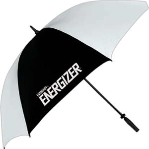 "Golf Umbrella With 62"" Arc With Fiberglass Ribs And A Golf Grip Handle"