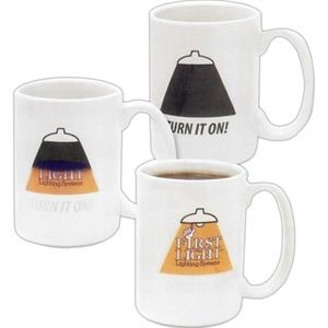 Amazink (r) - Stoneware Mug With Imprint That Appears When Mug Is Hot, 15 Oz