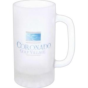 5 Working Days - Full Color Frosted Durable Glass Pub Stein, 16 Oz