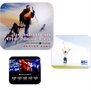 2 Working Days - Full Color Recycled Soft Surface Mouse Pad