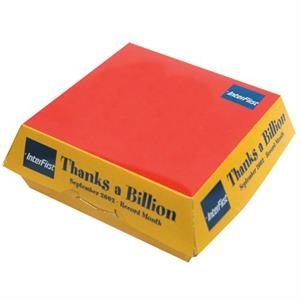 Promopack (tm) - Fast Food Hamburger Box Great For Packaging Any Promotional Product