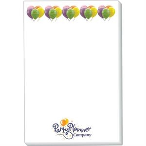 "Triple Spidertac (r) - 50 Sheets - Standard 4"" X 6"" Adhesive Sticky Note Pad, Full Color Imprint"