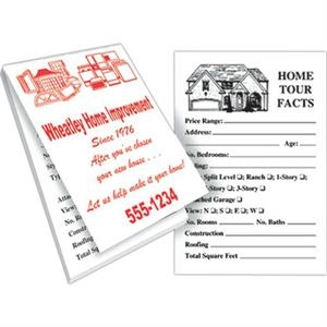 "Real Estate Memo Book With 25 Sheets, 2 5/8"" X 3 7/8"""