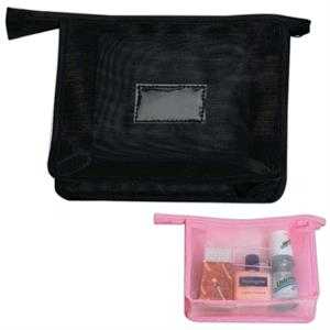 Web - Web Cosmetic Bag, Flat And Flexible, Closeout