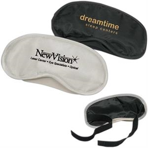 Nylon Eye Shade With Adjustable Comfort Strap With Velcro Closure, Closeout