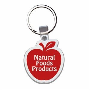 Apple - Soft Plastic Key Tag