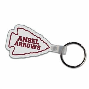 Arrowhead - Soft Plastic Key Tag