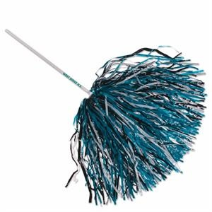 "Rooter - Rooter Handle, 750 Streamers - Poms With Safe 12"" Long Plastic Handle"