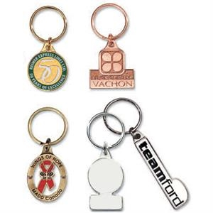 "1.5"" - Classic Key Chain, 3mm Thickness, With 32mm Split Key Ring"