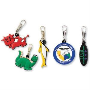"1 1/2"" - Custom Shape 3d Pvc Zipper Pull"