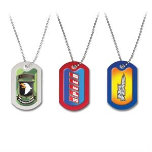 Dog Tags - Red