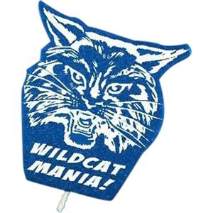 Wildcat - Mascot On A Stick. Made From Foam Material