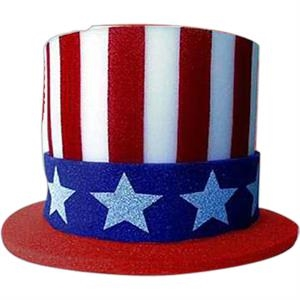 Foam Novelty Uncle Sam Top Hat