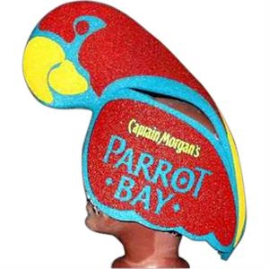 Parrot - Animal Shaped Foam Novelty Hat. Something For Everyone!