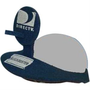 Satellite Dish Top - Novelty Foam Pop-up Visor