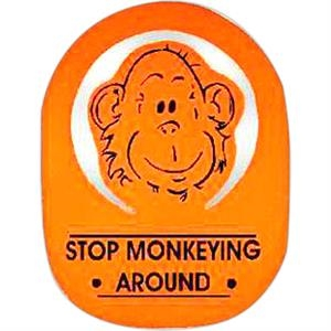 Monkey Top - Novelty Foam Pop-up Visor