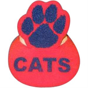 Paw Print Top - Novelty Foam Pop-up Visor