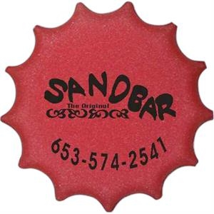 "9"" Contoured Bottle Cap Foam Flyer"