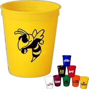 Spirit (r) - 16 Oz. Plastic Stadium Cup Made With Recycled Material