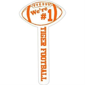 "Spirit (r) - Football - Hand Waver Cheering Accessory. 15"" - 16"""