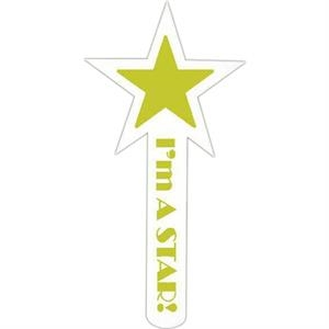 "Spirit (r) - Star - Hand Waver Cheering Accessory. 15"" - 16"" Tall"